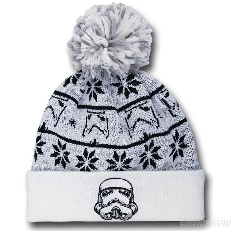 Star Wars Trooper Knit Pom Pom Beanie