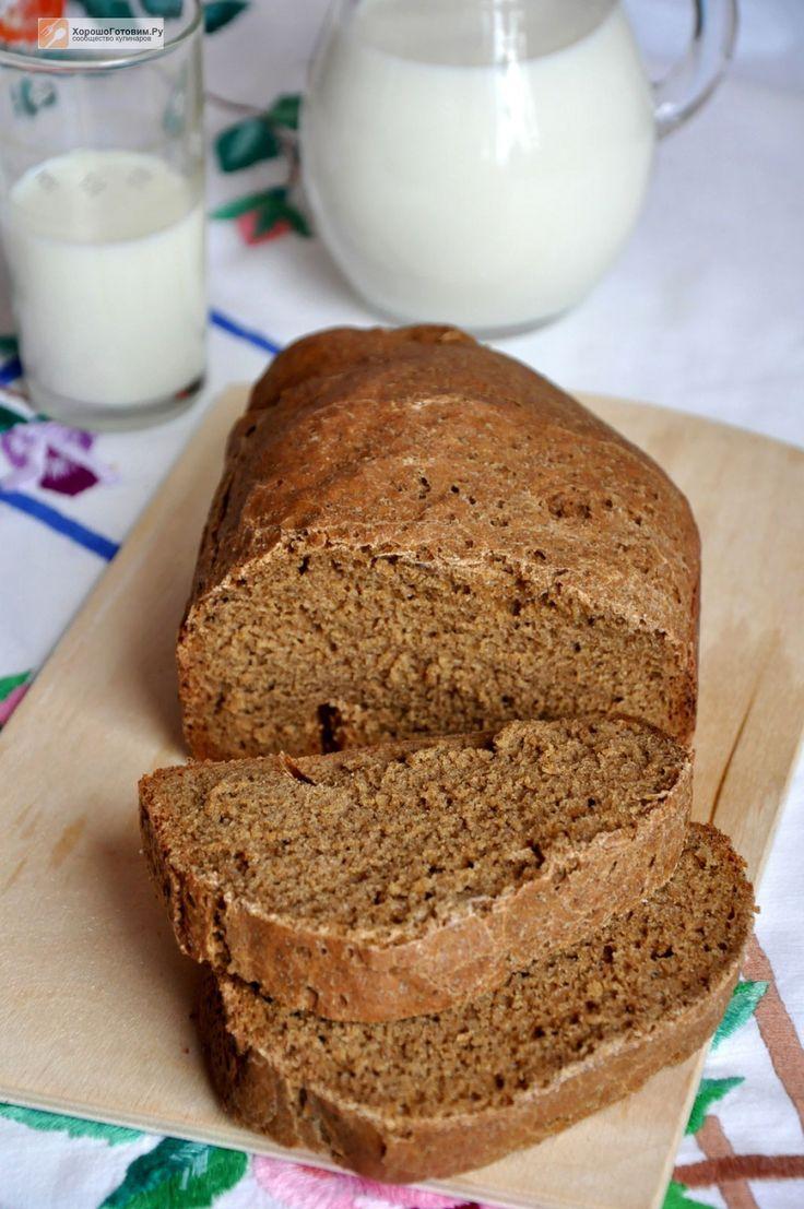 Черный хлеб на солоде - Хорошо Готовим.Ру