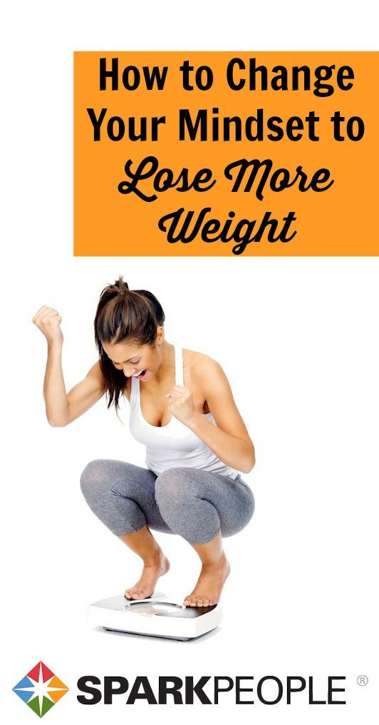 Drop the Fatitude and Get a Winning Attitude! How to change your mindset to lose more weight than ever. | via @SparkPeople #weightloss #diet #health #wellness #nutrition