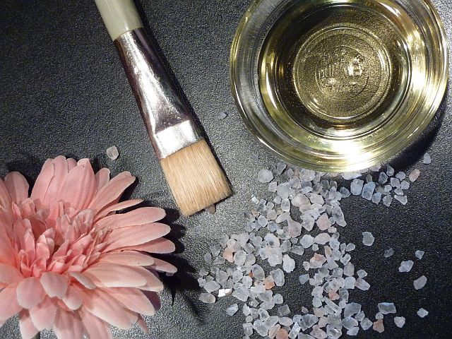 DIY Beauty-Produkt Meersalz-Öl-Peeling #DIY #Beauty #Peeling #Thermomix® ganz einfach selbstgemacht