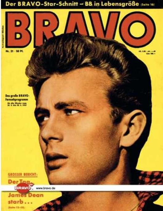 James Dean Magazine Cover Photos - List of magazine covers featuring James Dean - Page 8