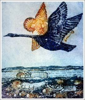 Janet Ayliffe, Psalm 139 'If I take the wings of the morning and remain in the uttermost parts of the sea.'- 1996