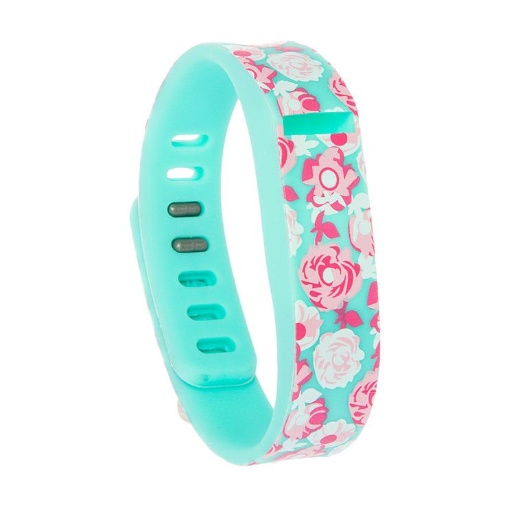 Floral Fitbit Flex™ Wristband   Icing                              …