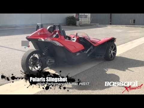 Polaris Slingshot High Performance Muffler by Bassani Xhaust