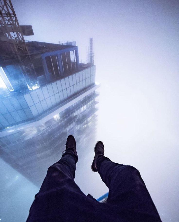 Way up in the clouds.