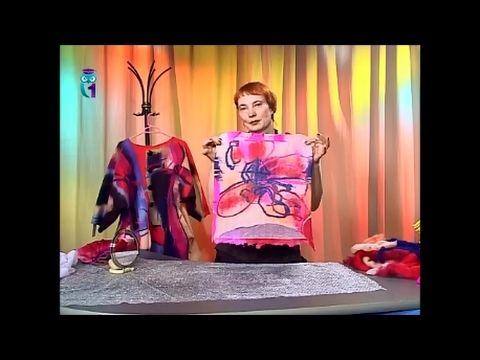 Мокрое валяние. Как свалять живописное объемное полотно из шерсти (войлока). Часть 2. Мастер класс - YouTube