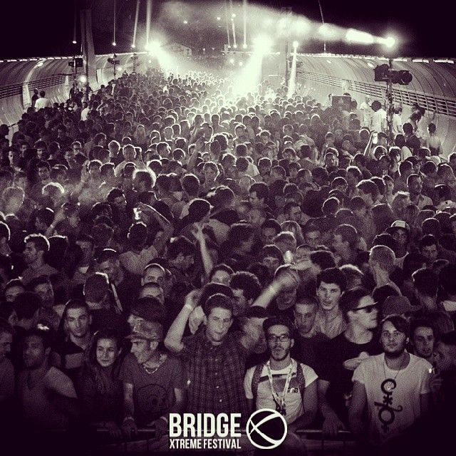 Waiting for Bridge Xtreme Festival 6 SEPTEMBER 2014 http://www.thextremefestival.com #festival #blackandwhite #bridge #music #belluno #house #techhouse #techno #electronic #dj #djs #followthebridge #xtreme #actionsport #after #afterparty #belluno #italy #party #partying #fun #TagsForLikes #instaparty #instafun #instagood #bestoftheday #crazy #friend #crowd