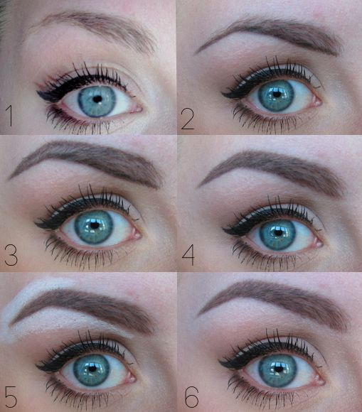 how to draw eyebrows with eyebrow pencil