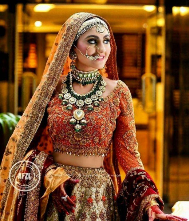 Red Bridal Lehenga | 8 Month Pakistani Wedding | South Asian Wedding Blog | Think Shaadi