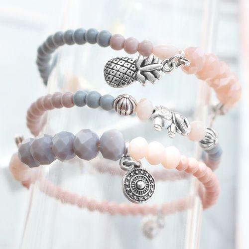 Trendy sieraden gemaakt met de mooiste kralen en bedels van DQ metaal!