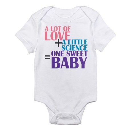 IVF Baby Body Suit @Lisa Phillips-Barton Phillips-Barton Phillips-Barton Lohrey @Charlene Saunders Saunders McNab Tinch