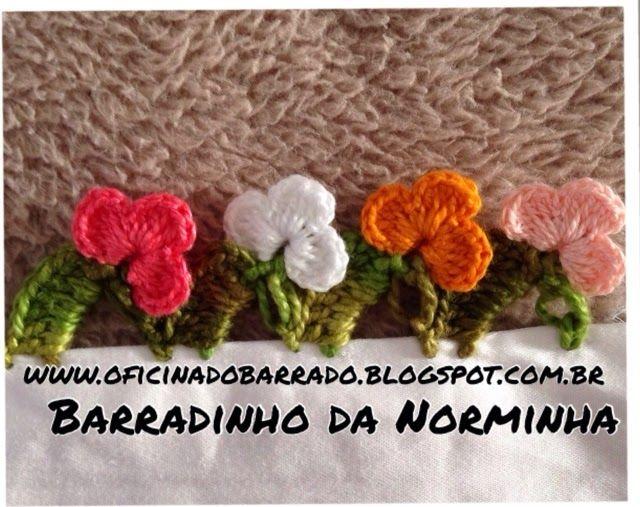 OFICINA DO BARRADO: Croche - Barradinho Gracioso ...