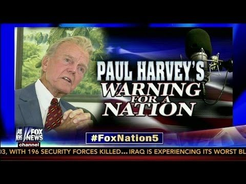 "Paul Harvey's 1965 Radio Warning to America - ""If I were the Devil.."" - YouTube"