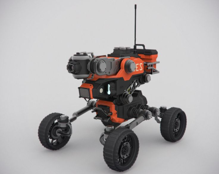State Emergency Service Drones (UGV) - some cool concepts here: adjustable height, multi-level run-flat tires, brush guards, sensor array, structural detailing, storage... well thought out.