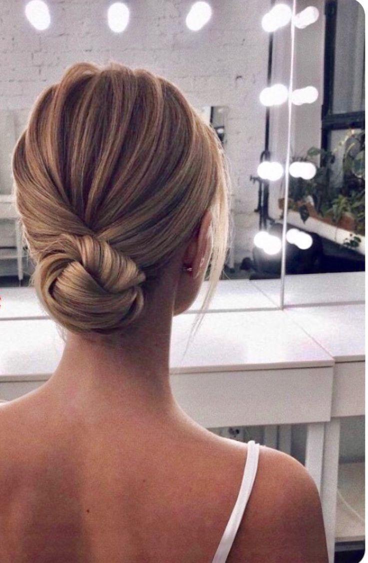 Brautfrisur, #Brautfrisur #hårstil in 12  Frisur hochgesteckt