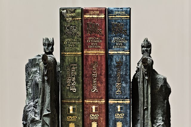 Lord of the Rings Bookends.