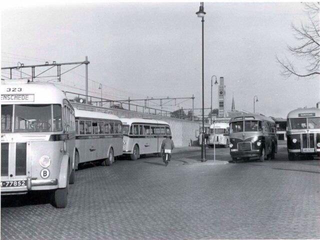 Busstation, Enschede. Jaar?