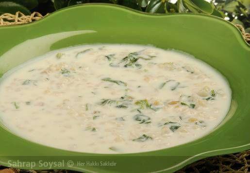 Ispanaklı yarmalı çorba tarifi