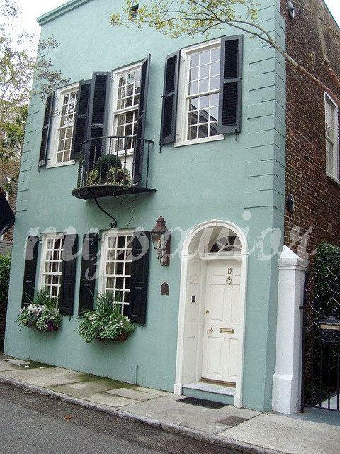 IBHandmade Beautiful Old Home Charleston Photo card by MYSAVIOR on Etsy $3.50