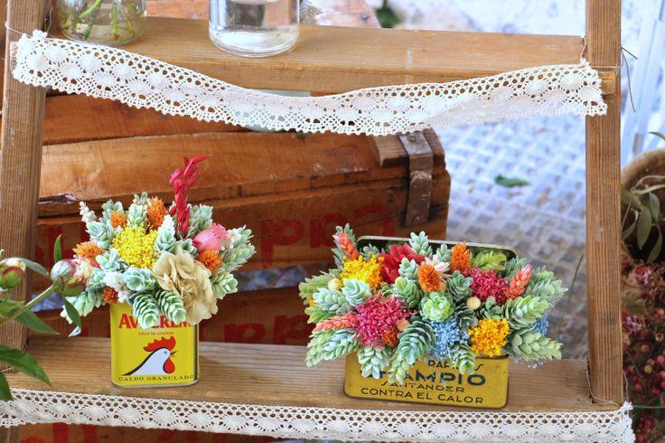En el estudio de... Flores en el Columpio | La Bici Azul: Blog de decoración, tendencias, DIY, recetas y arte