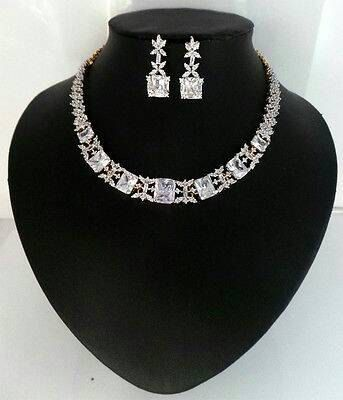 Check out this item in my Etsy shop https://www.etsy.com/au/listing/460592738/new-bridal-jewelry-setwedding-necklace