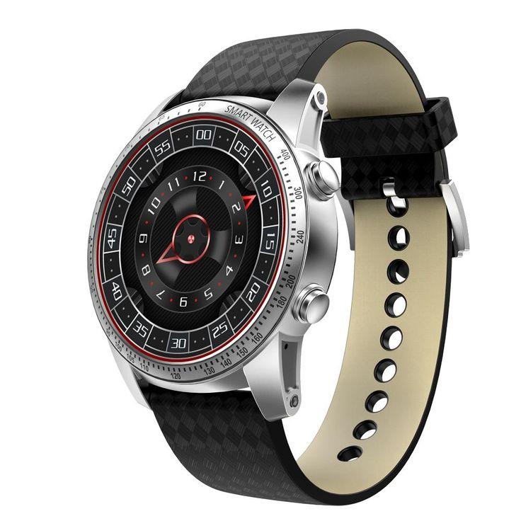 KINGWEAR KW99 1.39-inch 400mAh Android 5.1 3G Wifi Smart Watch Sale - Banggood.com