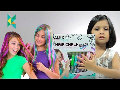 Hamleys Noida India, Alex Hair Chalk Salon : Kids Safe Hair Colors : Noida DLF…