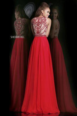 Sherri Hill / red dress