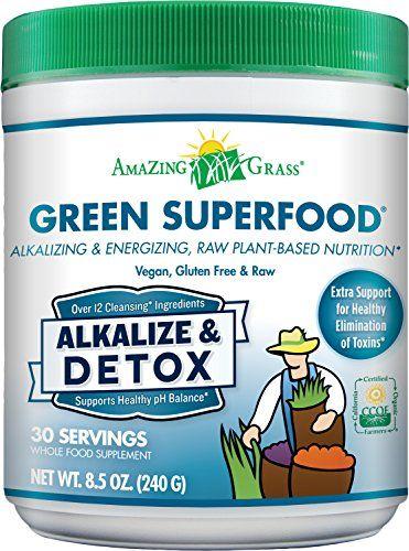 Amazing Grass Green SuperFood Alkalize & Detox, 30 Servings, 8.5 Ounces Amazing Grass http://www.amazon.com/dp/B00OAV9QBY/ref=cm_sw_r_pi_dp_Nnmlwb1HFGKNT
