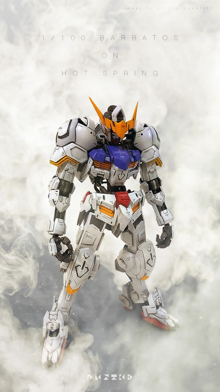 GUNDAM GUY: 1/100 Gundam Barbatos - Photoshop Images
