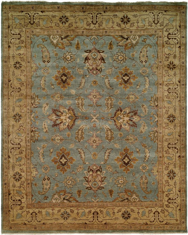 Rugstudio Presents Famous Maker Oushak 527 Hand Knotted
