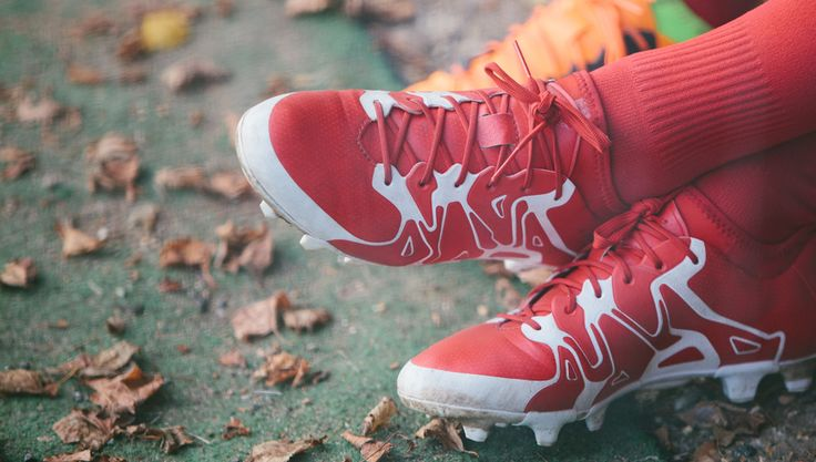 Wow. This red Adidas X looks sick!