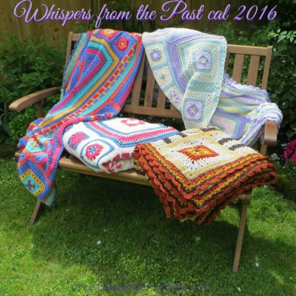 Whispers from the Past Blanket CAL 2016 - Starts October 13, 2016 - Free Crochet Pattern - Blocks, Squares, Afghan, Crochet Along, 4 colorways, or Design your own....
