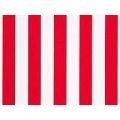 Red stripe table runner - 3m