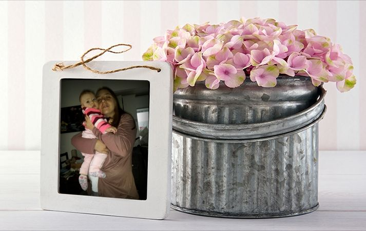 Flowers Funny Photo Frame