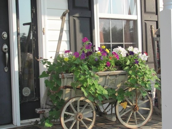 Wagon here with a flower delivery!!