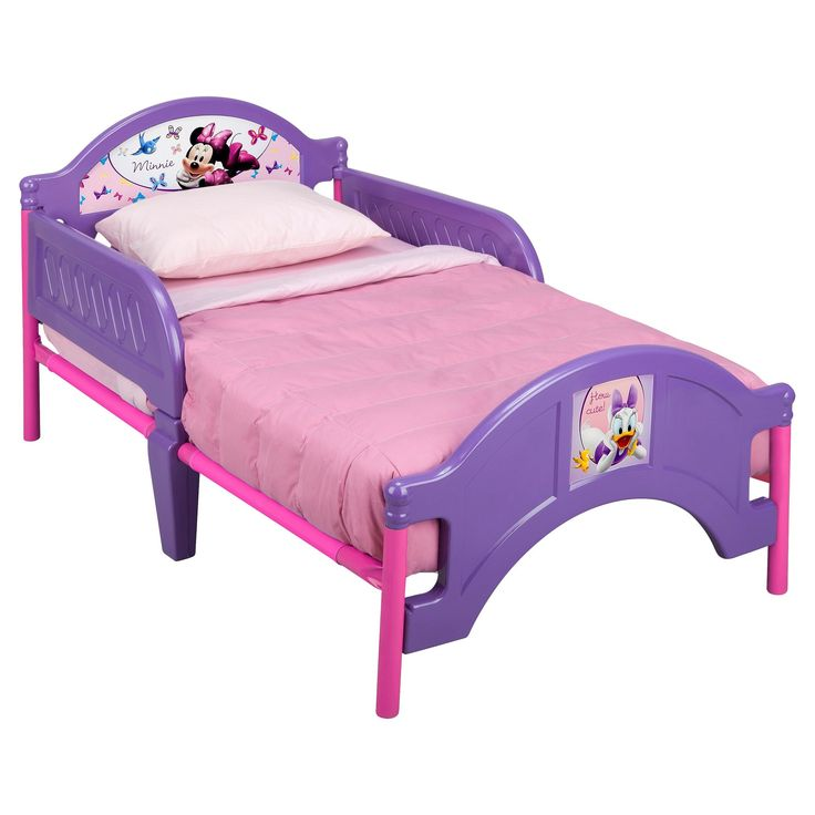 Delta Minnie Mouse Toddler Bed, (With images) | Toddler ...