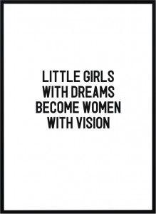 Plakat Little girls - różne rozmiary