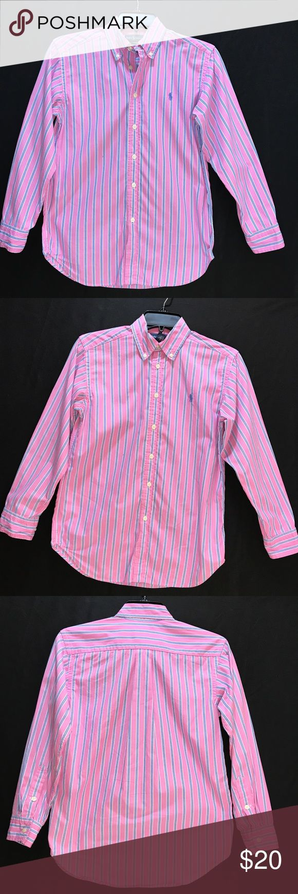 Boys Ralph Laurn shirt M (10-12) Boys Ralph Laurn shirt M (10-12) fits 10-12 year old Ralph Lauren Shirts & Tops Button Down Shirts