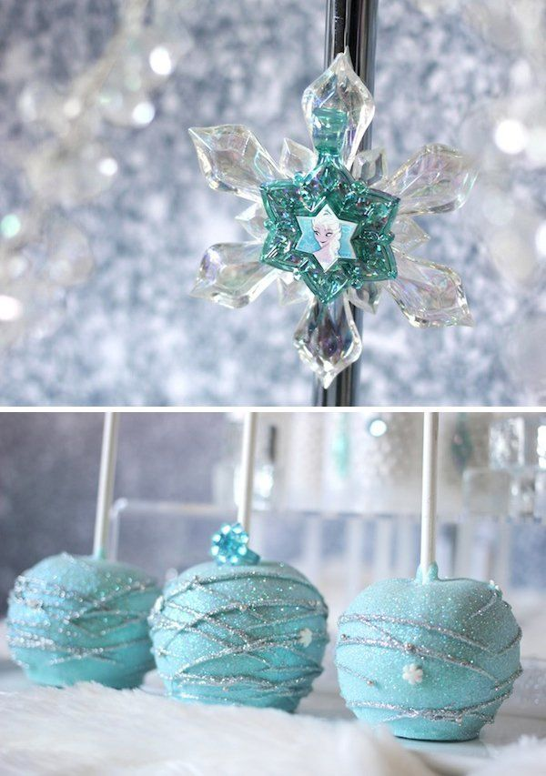 Trend Alert: Frozen Party {Sweets Table} // Hostess with the Mostess®