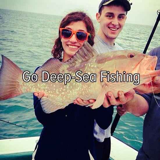 Bucket list: go deep-sea fishing: I'm going in three weeks!!