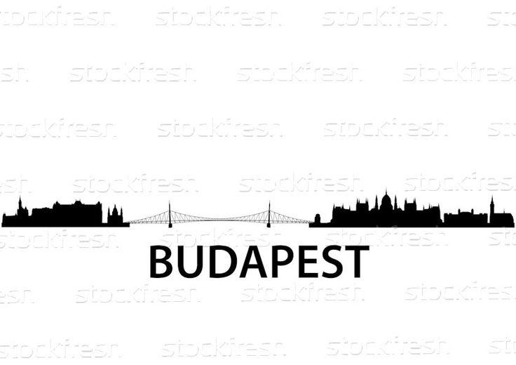 Skyline · budapest · vettore · casa · primavera · costruzione - illustrazione vettoriale © Felix Pergande (unkreatives) (#1070109) | Stockfresh