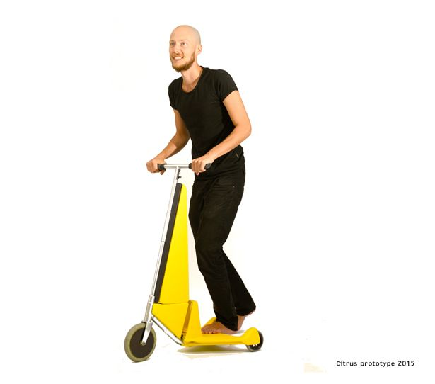 Citrus Folding Scooter by Peter Opsvik