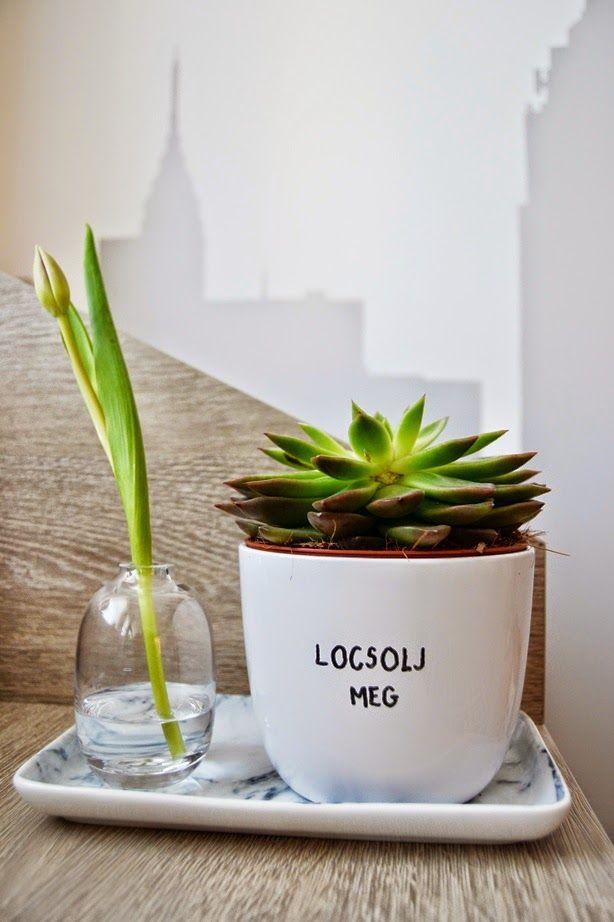 http://kedvencotthon.blogspot.hu/  green, floral, spring, kidsroom