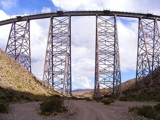 Viaducto La Polvorilla en San Antonio de Los Cobres