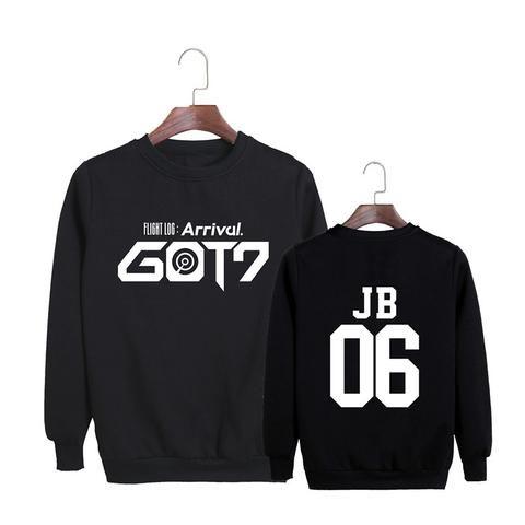 GOT7 Flight Log Arrival JB 06 Leader Boy Band Cool Fashion Sweatshirt #GOT7 #FlightLog #Arrival #JB #Leader #BoyBand #Cool #Fashion #Sweatshirt #KIDOLSTUFF #KPOP