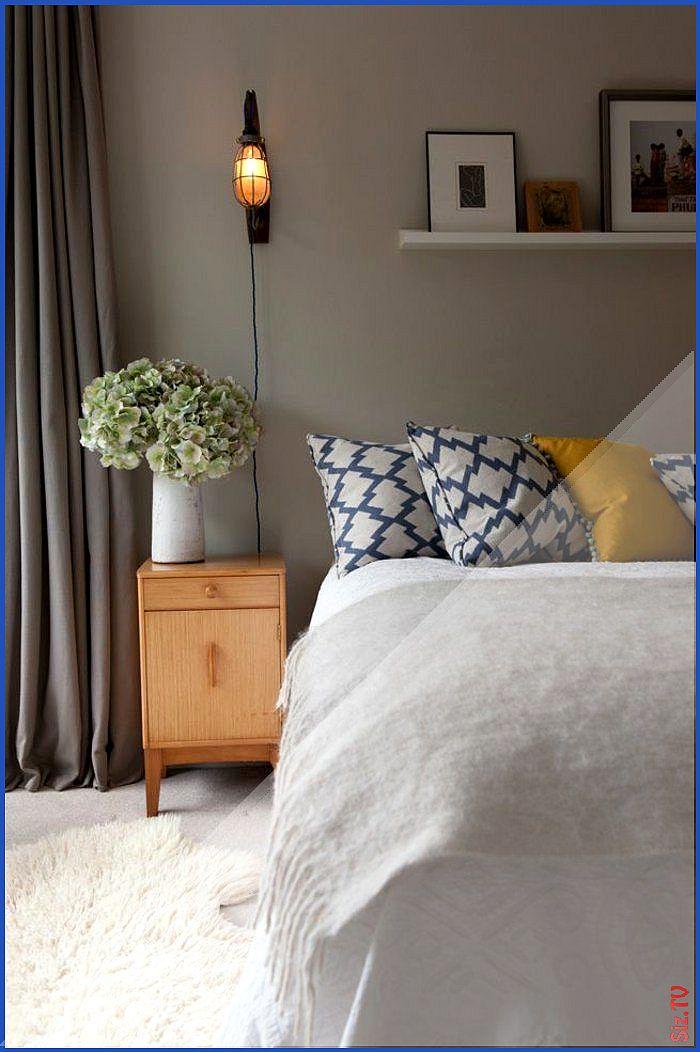 wandfarben schlafzimmer farben beige dekokissen muster ...