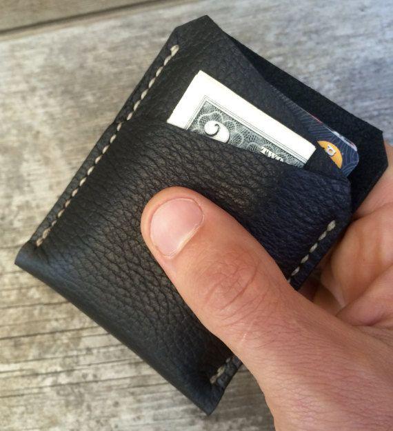 Front Pocket portemonnee aangepaste heren door Wallingandsons