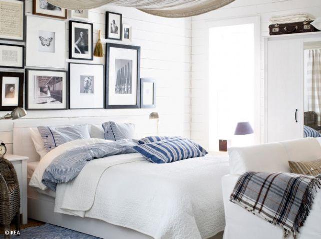 1000 images about chambre bord de mer on pinterest for Set de chambre ikea