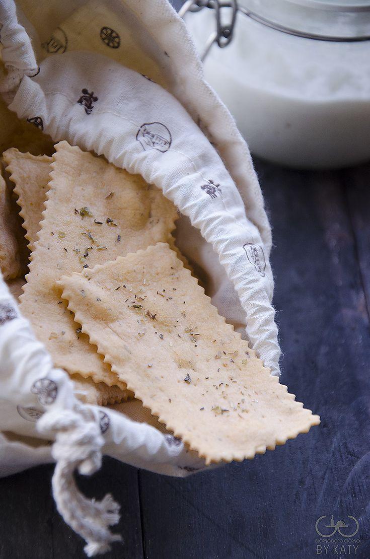 Crackers Gusto Pizza con Esubero di Pasta Madre